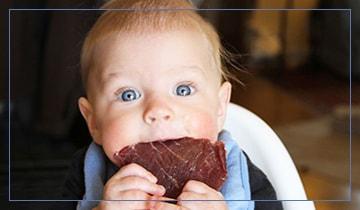 Какое мясо лучше для ребенка до года